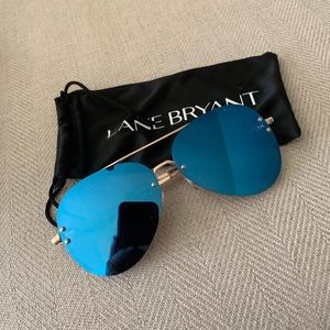 Lane Bryant Blue Aviators